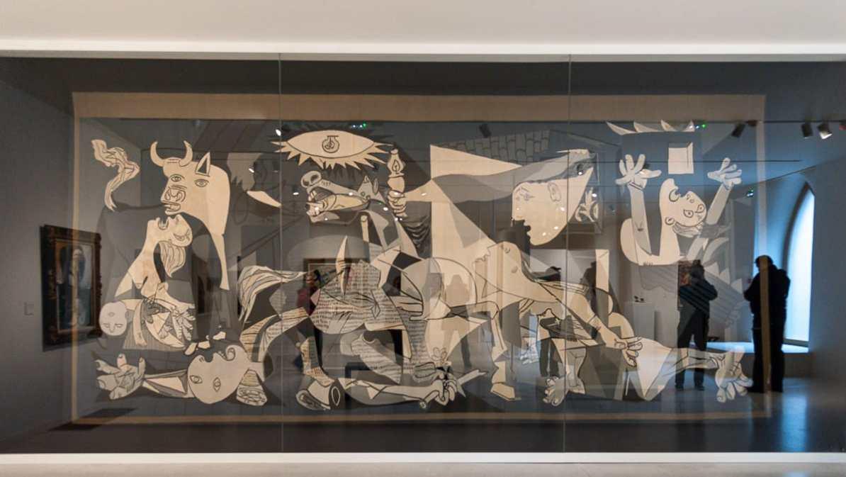 Wandteppich-Version von Guernica (Picasso)