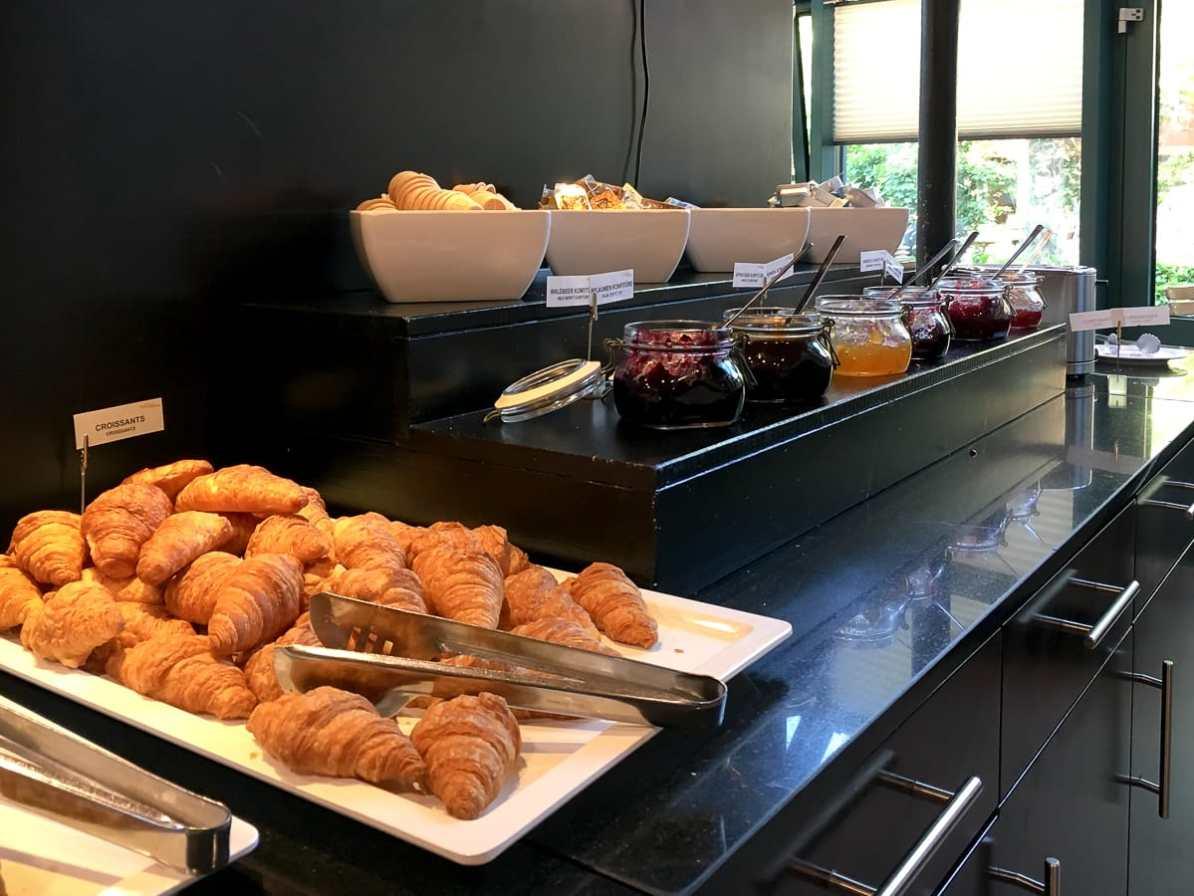 Teil des reichhaltigen Frühstücksbuffets im GHotel