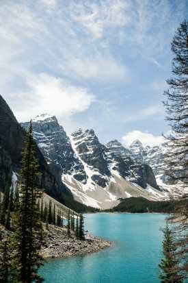 Rocky Mountains - Moraine Lake