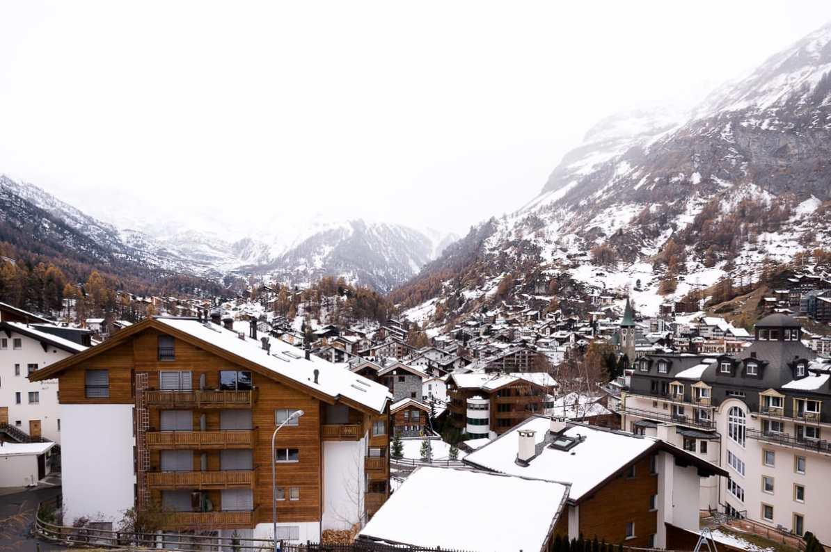 Wie wir sehen, sehen wir nichts - Zermatt ohne das Matterhorn
