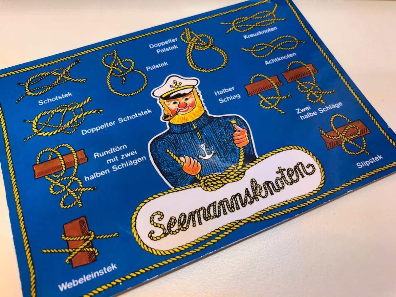 Postcard of the Week: Seemannsknoten aus Langeoog