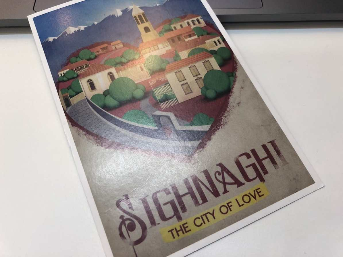 Postcard of the Week: Sighnaghi, Georgien