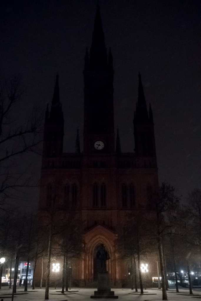 Marktkirche mit Wilhelm I. von Nassau