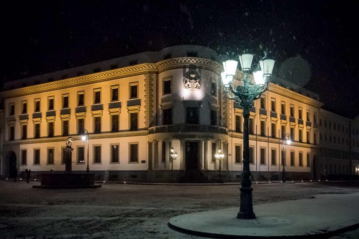 Hessischer Landtag im Nassauischen Stadtschloss