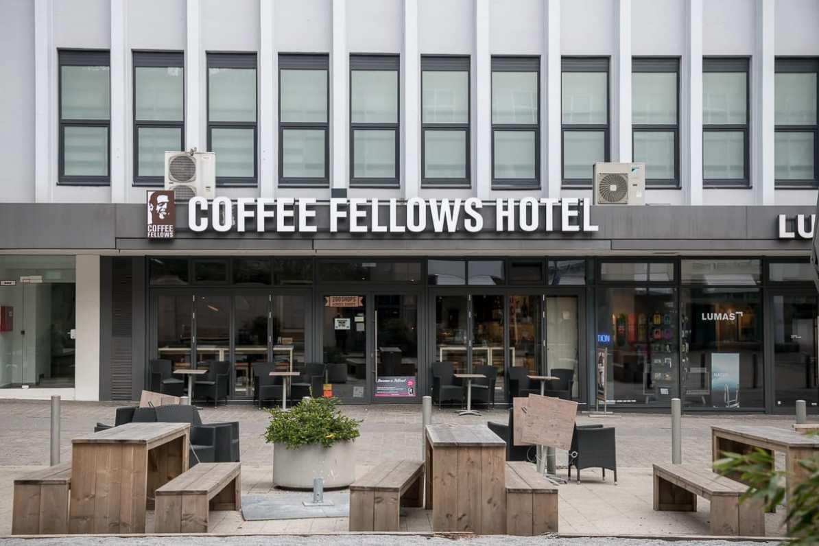 Das Hotel im Coffeeshop