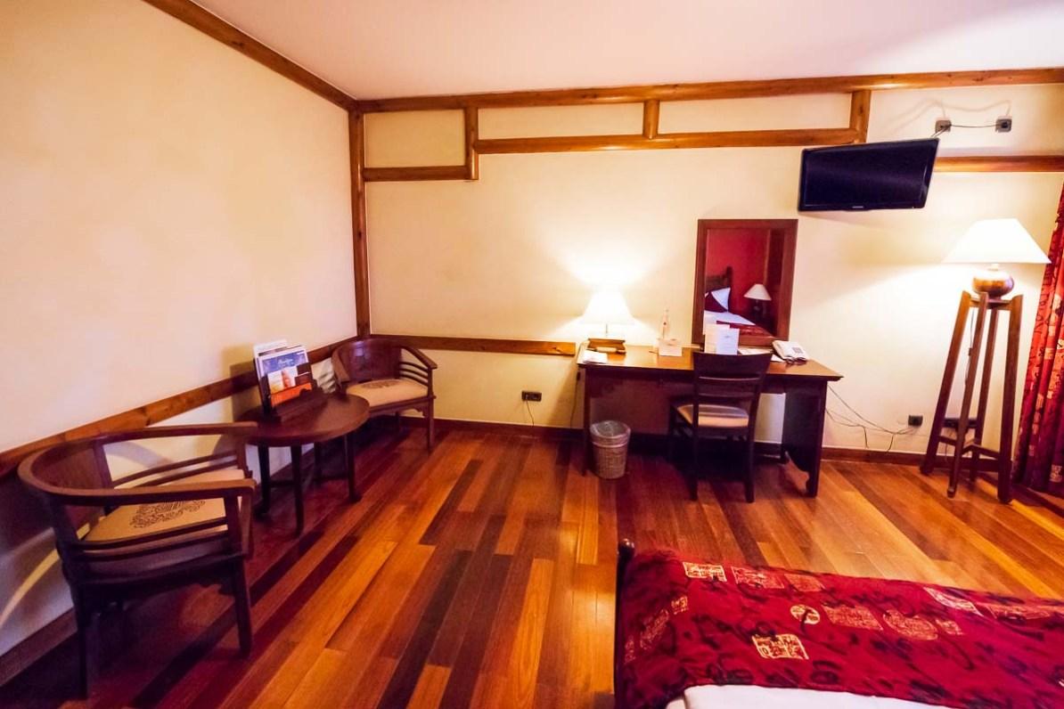 Großzügiges Zimmer im Ling Bao