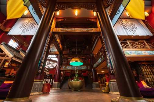 Lobbybereich Hotel Ling Bao