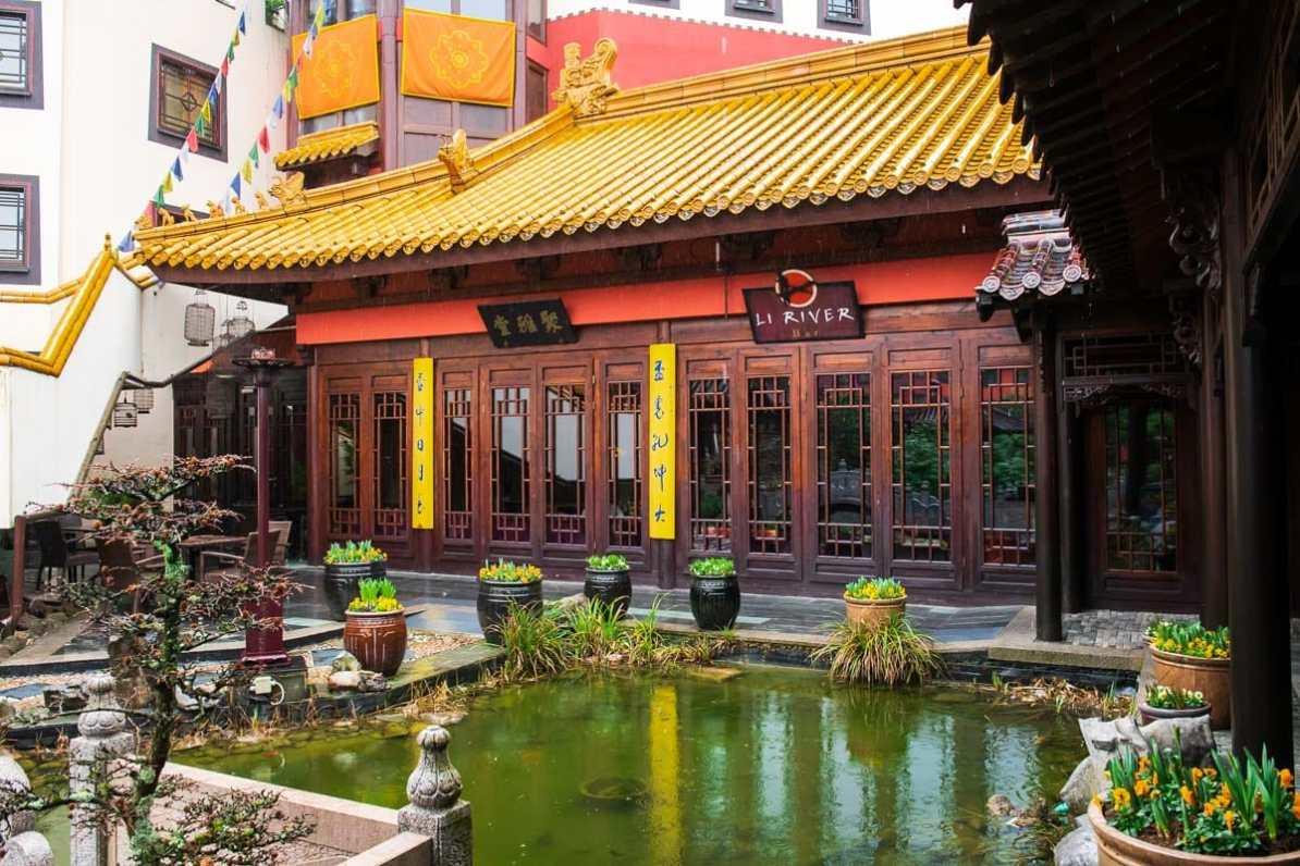 Li River Bar von außen