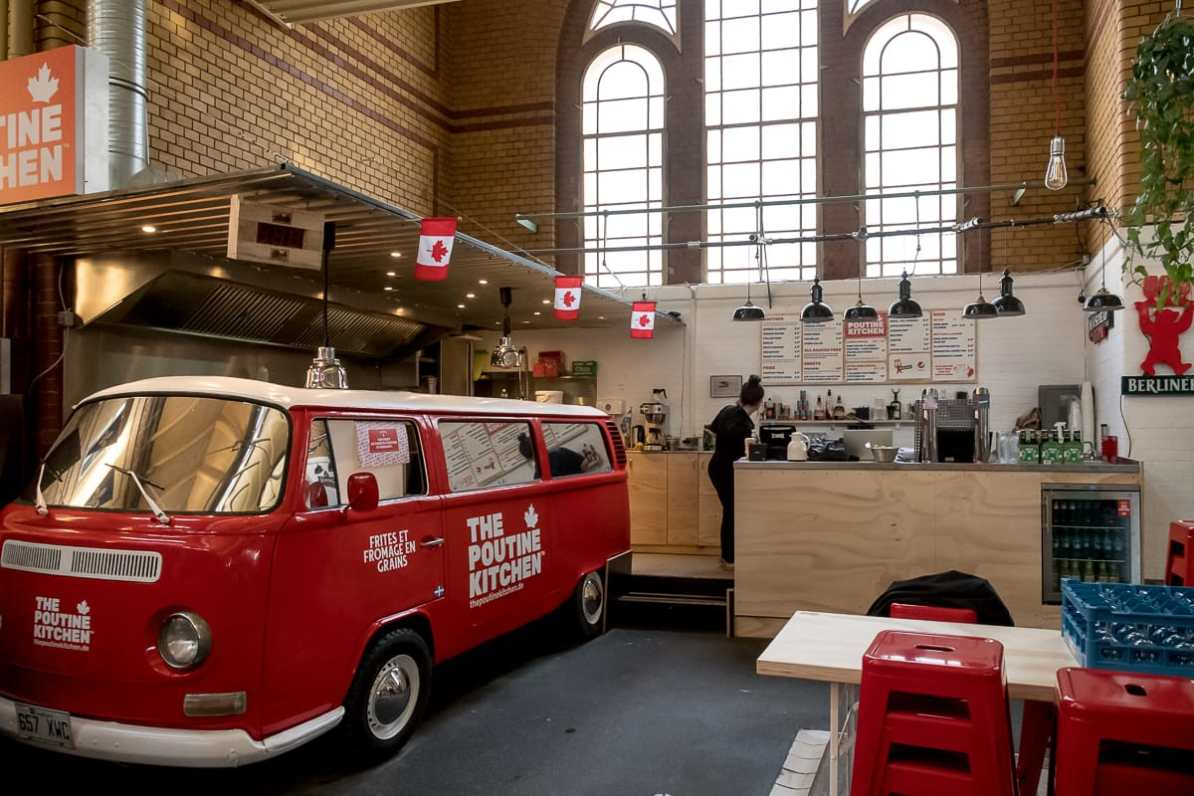The Poutine Kitchen in der Arminiusmarkthalle