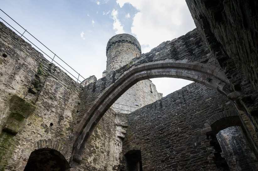 Innerhalb der Burganlage