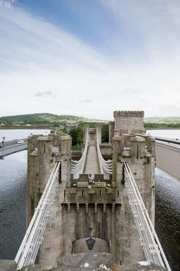 Die drei Brücken über den Conwy
