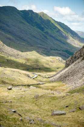 beeindruckende Berge im Snowdonia National Park