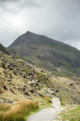 Wanderweg durch Snowdonia