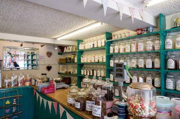 Süßigkeitenladen in Machynlleth