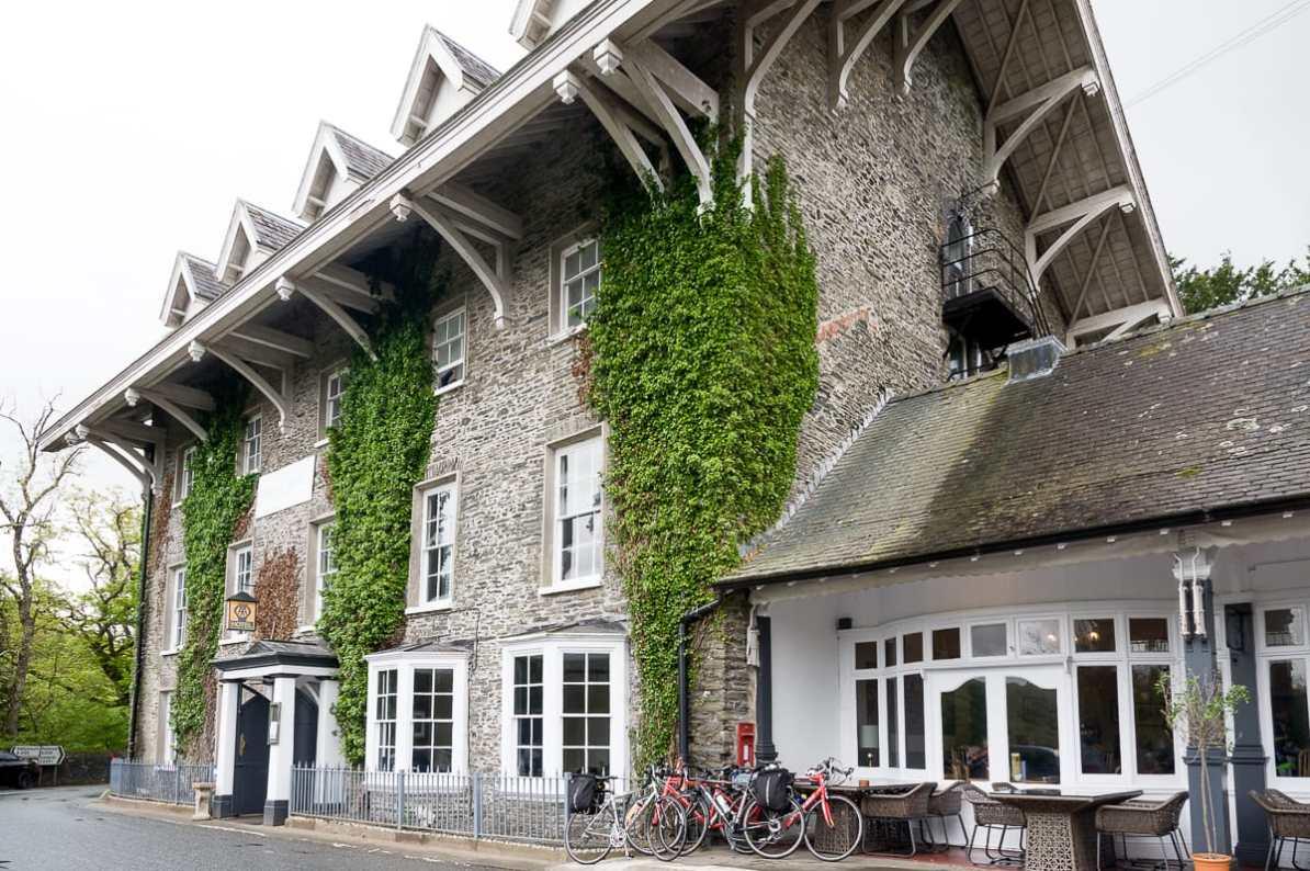 Hafod Arms Hotel an der Devil's Bridge