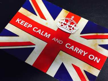 Postcard of the Week - Keep Calm and Carry On