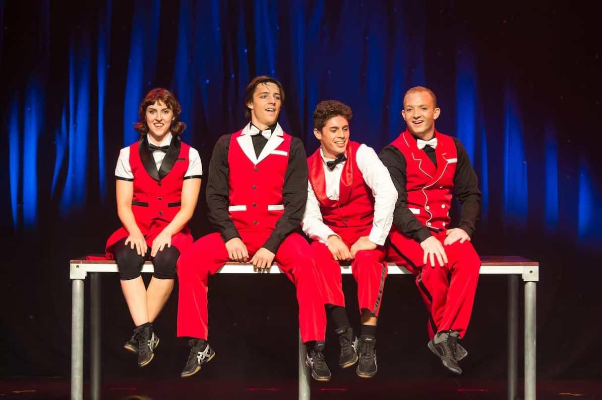 "Die kanadische Truppe ""Quatuor Stomp"" bei ""Trust Me"""