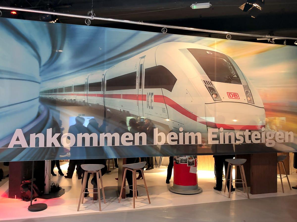 Ankommen beim Einsteigen - das neue Service-Motto der Deutschen Bahn