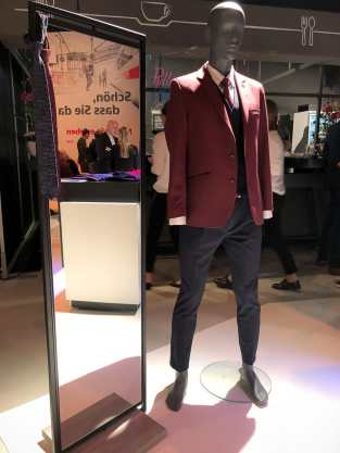 Burgundy - hier bei der Männerbekleidung