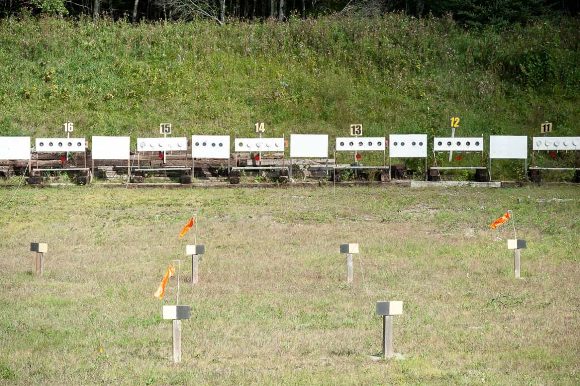 Biathlon-Shooting-Range
