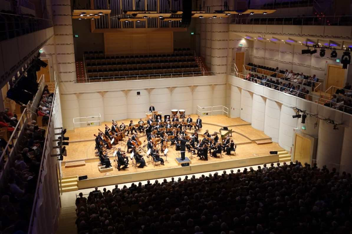 """Eroica, Beethoven 1. Philharmonisches Konzert 2018/19 """"Zeitenwende"""" Foto: A. Schürer, Dortmunder Philharmoniker"""