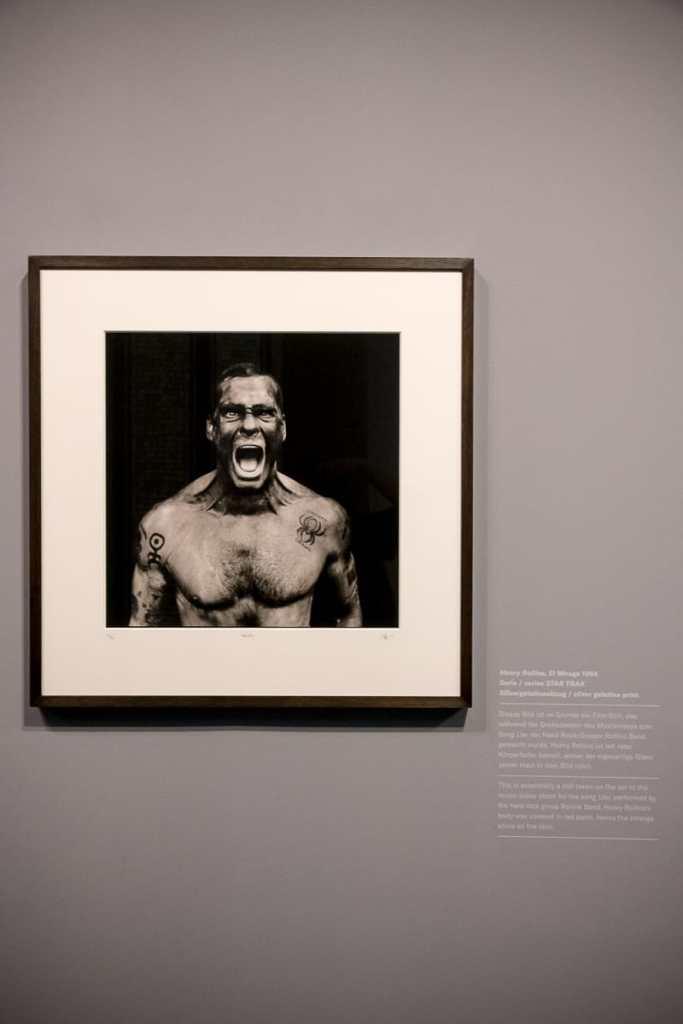 """Henry Rollins """"Liar"""", das Titelbild der Ausstellung"""