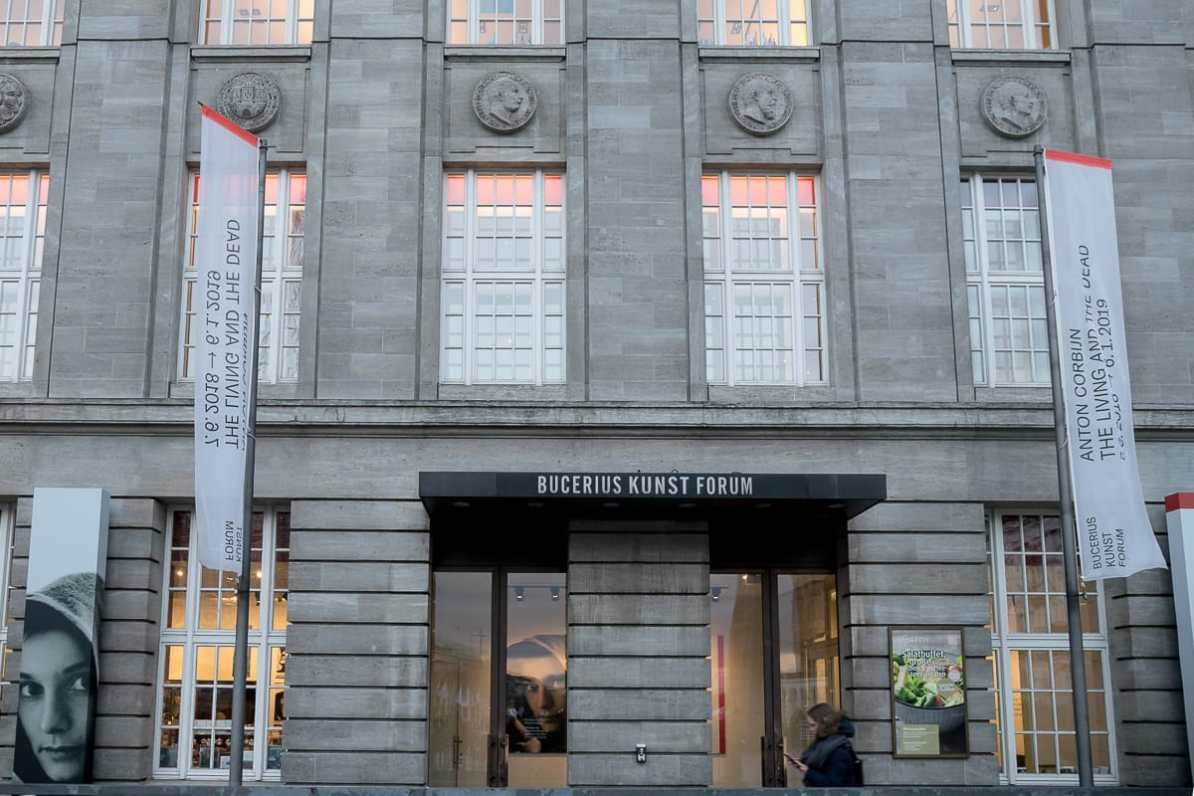 Bucerius Kunst Forum Hamburg - Ort der Anton-Corbijn-Ausstellung