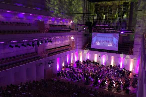 Ordnung ins Chaos bringen - 4. Familienkonzert 2017/18 Foto: A. Schürer/Dortmunder Philharmoniker