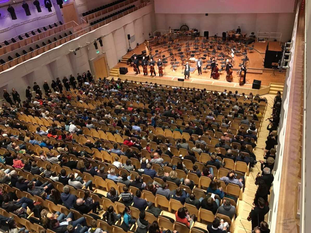 Wo ist die Tuba? - Das zweite der Familienkonzerte 2017/18 Foto: A. Schürer/Dortmunder Philharmoniker