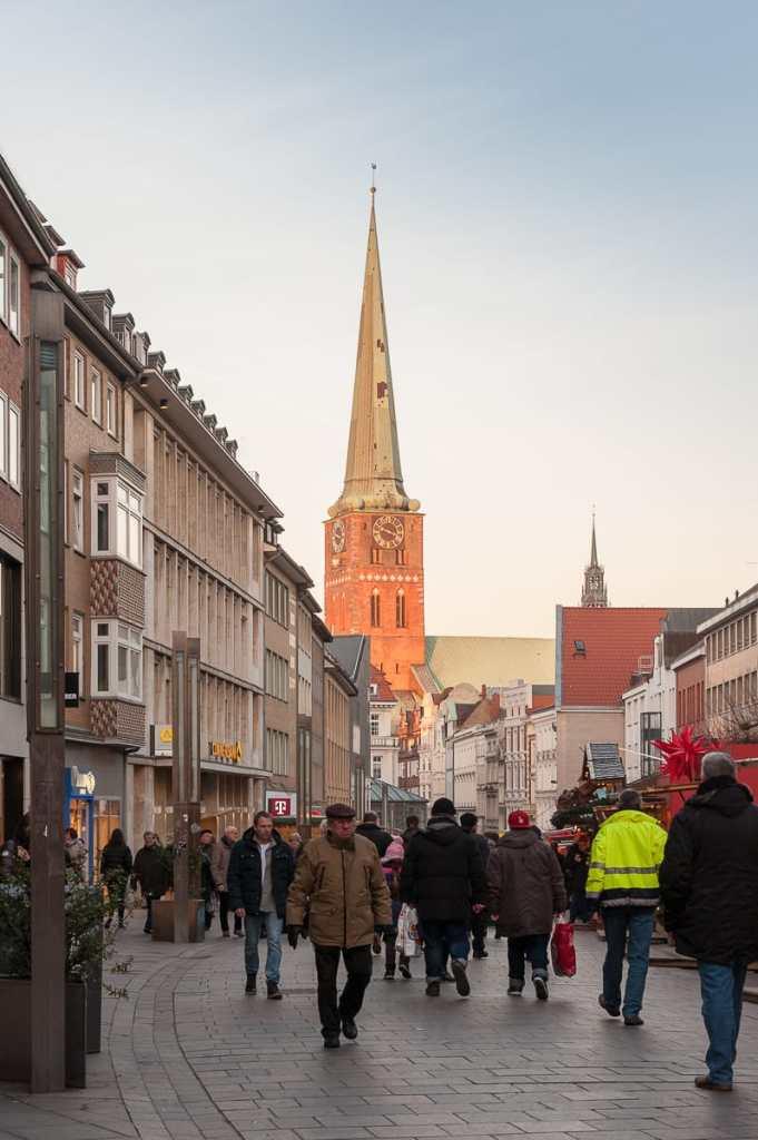 Breite Straße mit Blick auf St. Jakobi