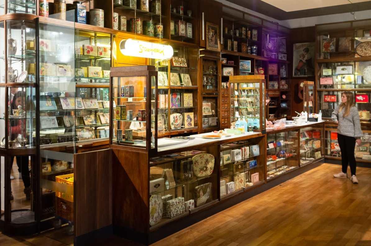 Schokoladenladen im Museum