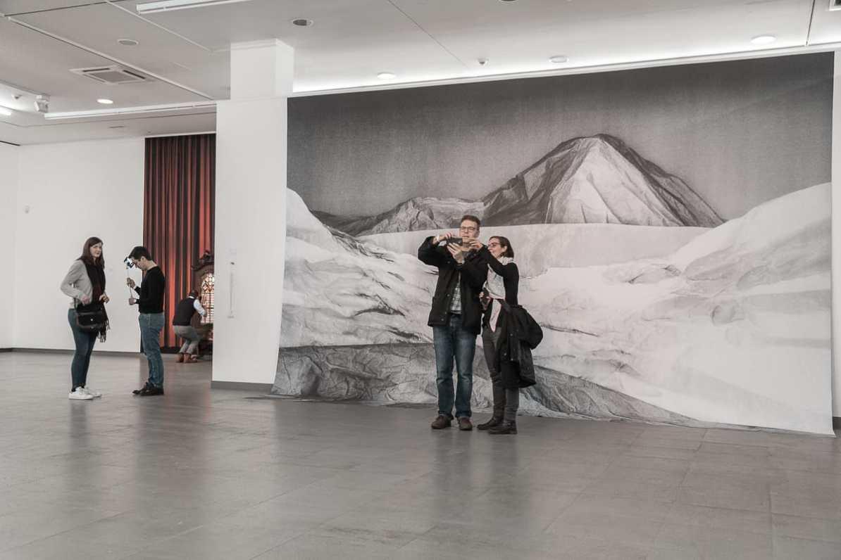 "Der Selfiespot mit ""Bergpanorama""."