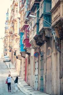 In den Straßen der Maltesischen Hauptstadt