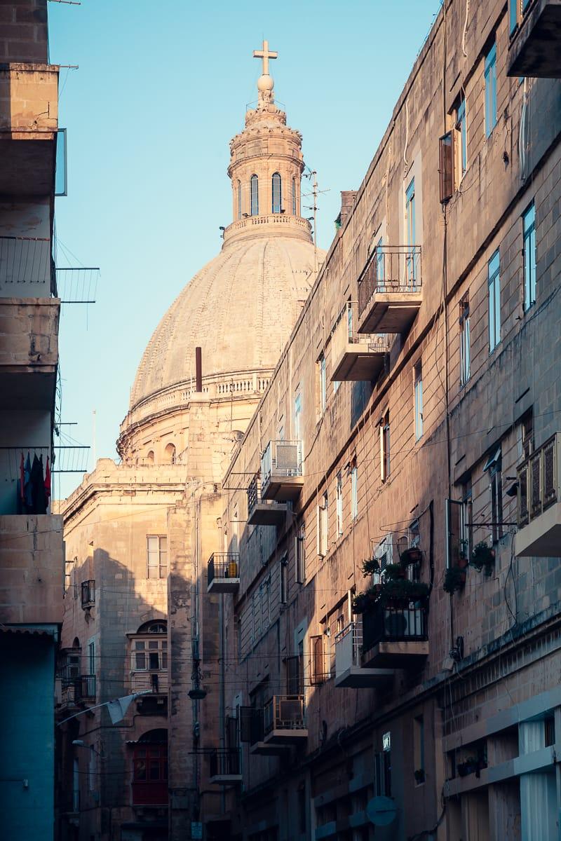 In den Straßen von Valletta
