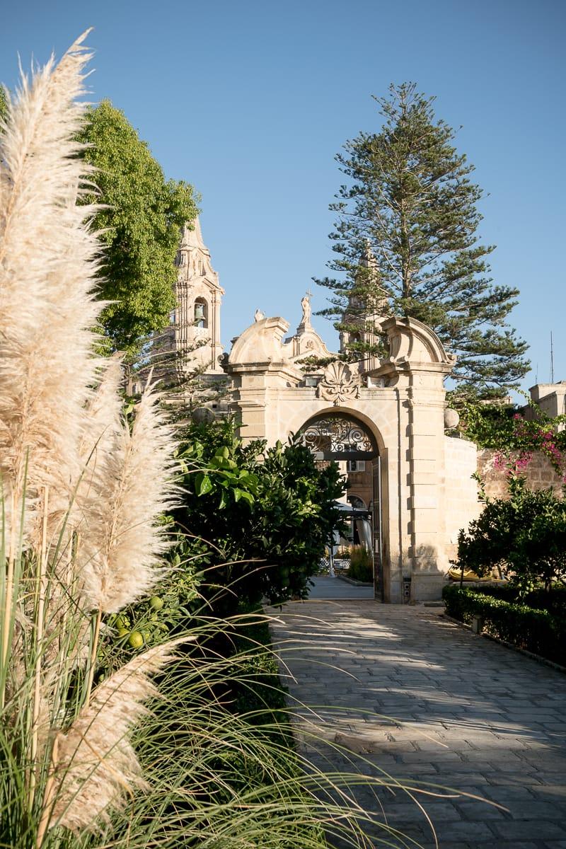 Garten des Palazzo Parisio, Naxxar