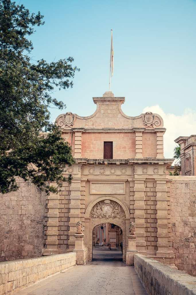 Mdina Gate - Eingangtor von Königsmund in Game of Thrones
