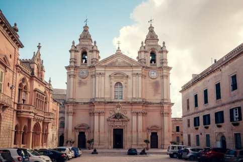 St. Paul's Cathedral, Mdina - eine der beliebtesten Malta Sehenswürdigkeiten