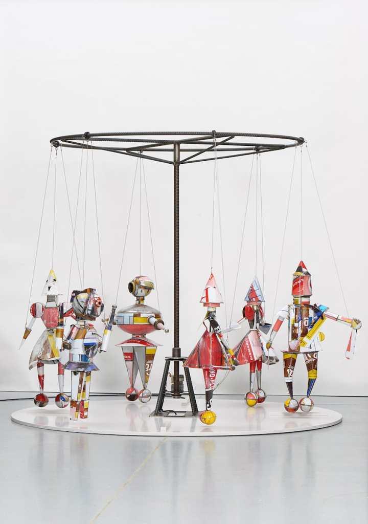 Marcel Dzama, Merry go round #2, 2011, Sammlung Monika Schnetkamp, Düsseldorf, © Marcel Dzama, 2018, Foto: Hendrik Reinert