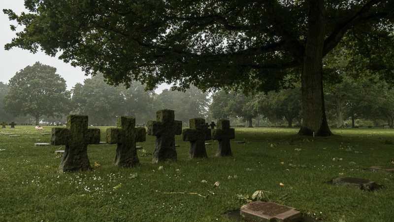 D-Day in der Normandie - Landungsstrände (Titelbild des Beitrages, La Cambe Friedhof)
