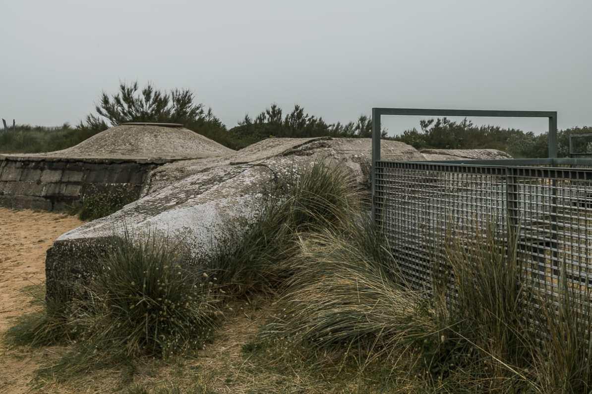 Deutscher Bunker des Atlantikwalls -Juno Beach.