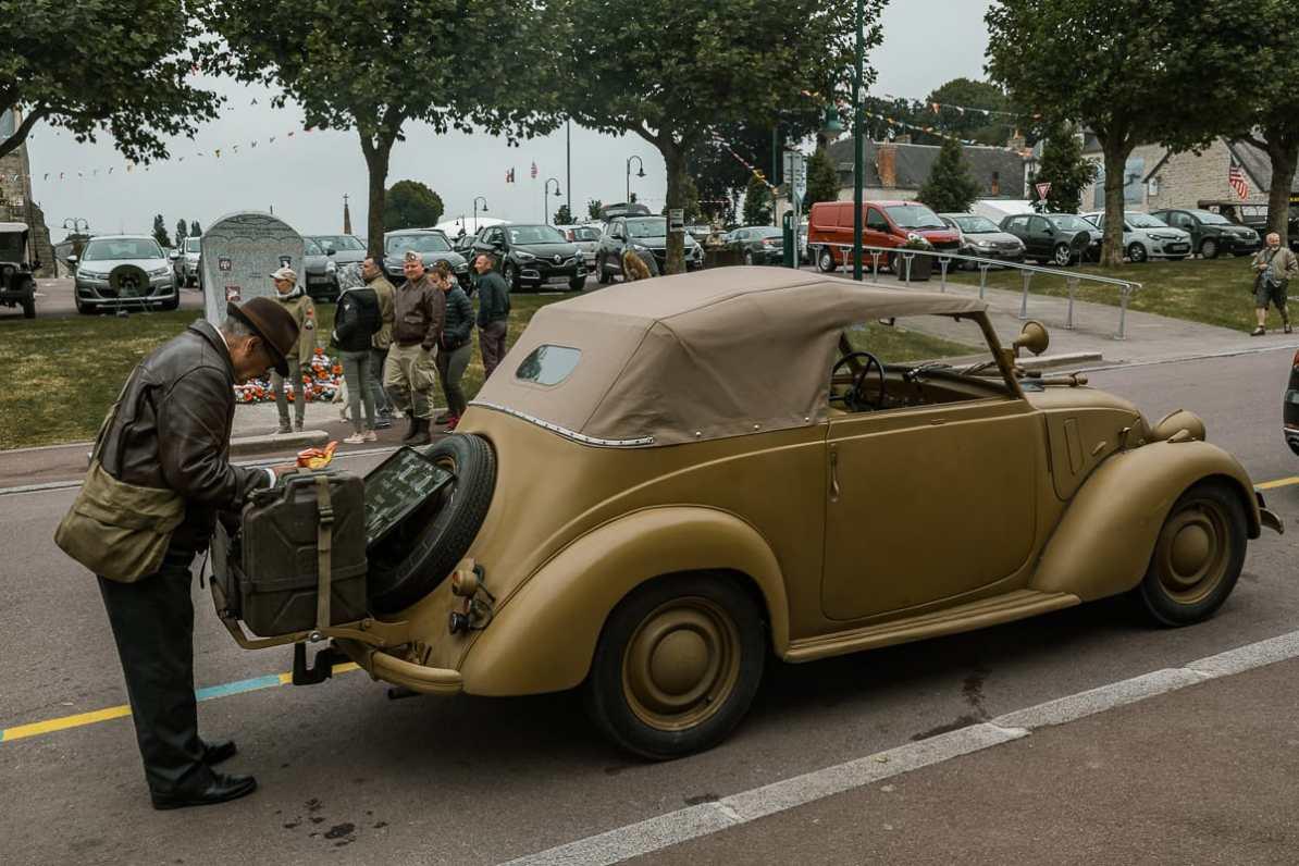 Fahrzeug aus den 1940ern.