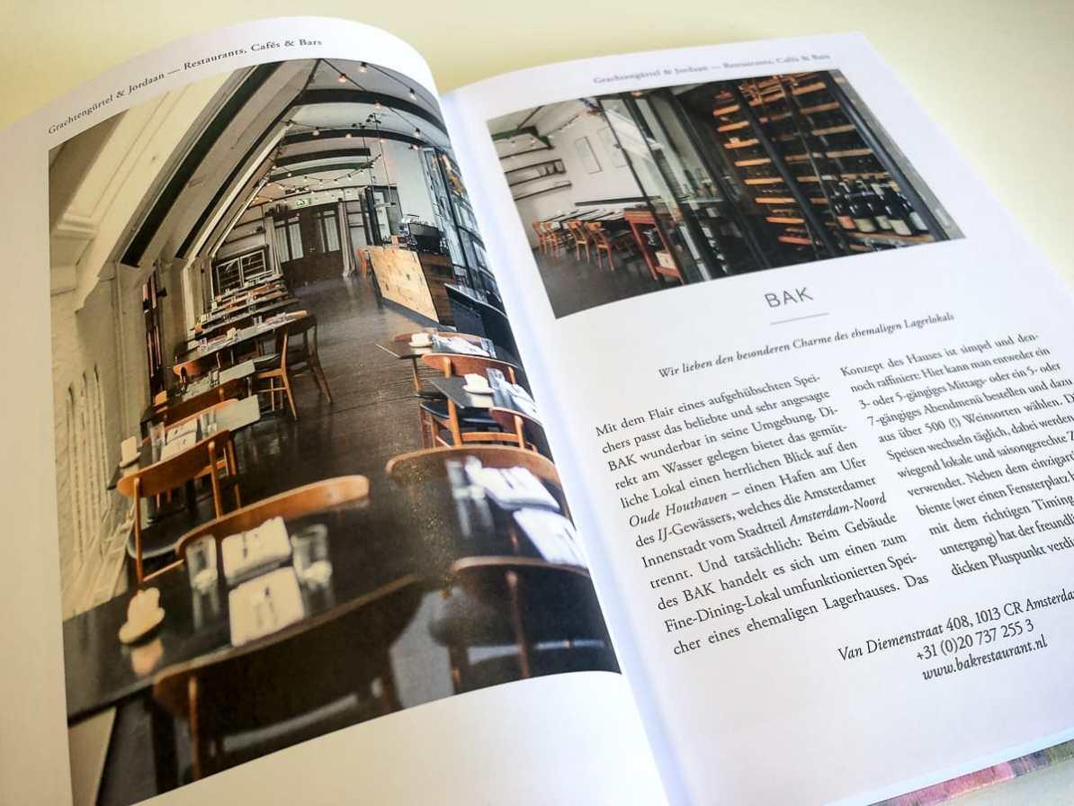 Detailseite einer Location in der Amsterdam Edition.