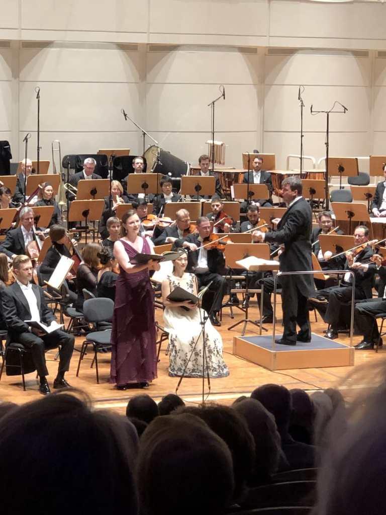 Die Solistinnen des 6. Philharmonischen Konzerts im Konzerthaus Dortmund.