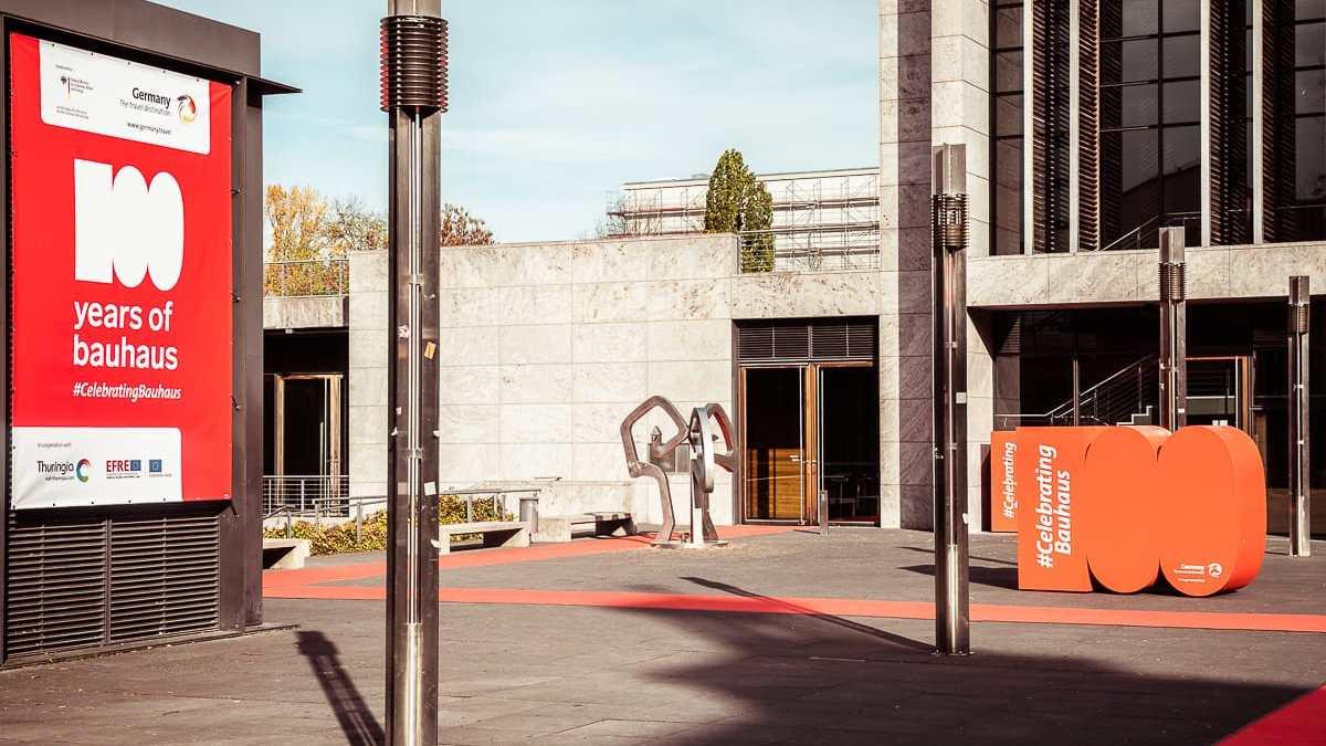 Bauhaus Weimar - 100 Jahre Bauhaus - Celebrating Bauhaus.