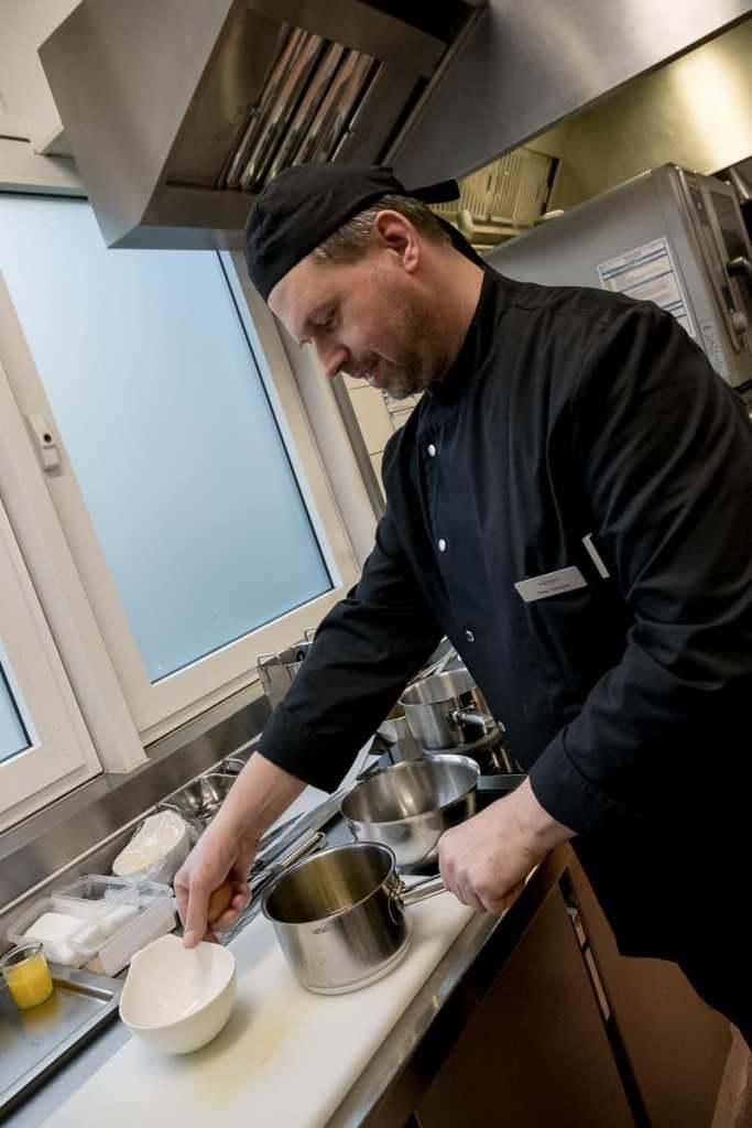 Mit Peter Gebhardt an meiner Seite konnte in der Küche nichts schief gehen.