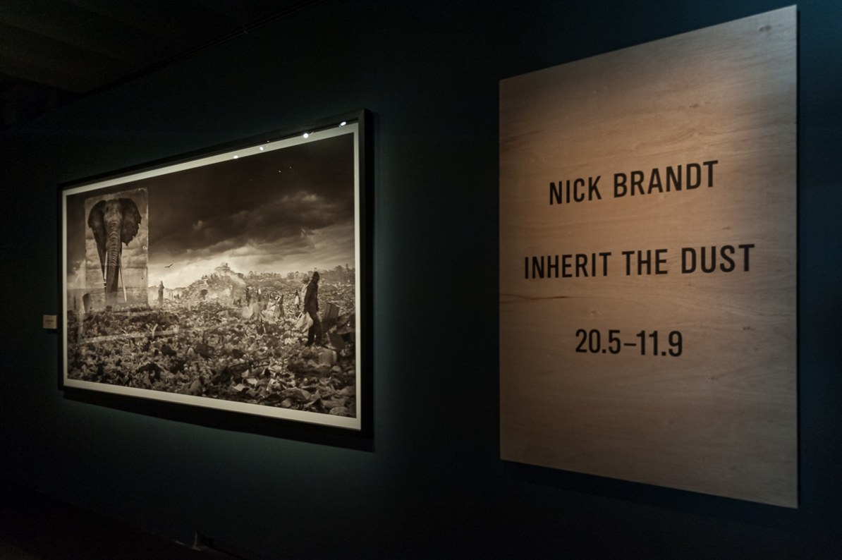 "Anfang der Nick Brand ""Inherit the Dust""-Ausstellung, Fotografiska Museum in Stockholm, 2016"