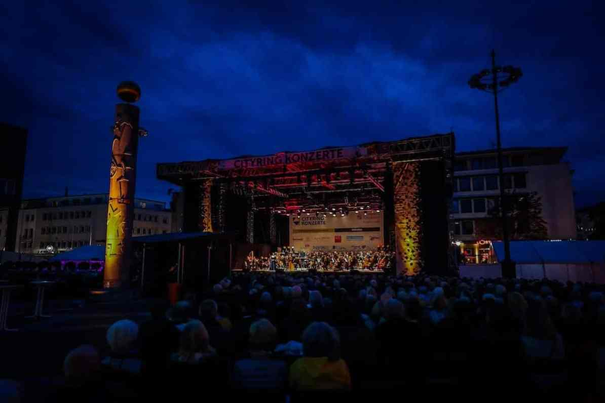 Operngala der Cityring-Konzerte 2019 auf dem Friedensplatz Dortmund, Foto: Jan Heinze/Stephan Schütze