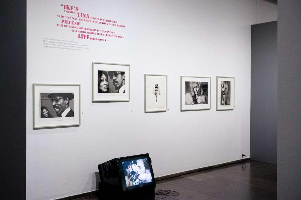 Fotos und Filmaufnahmen von Ike & Tina Turner