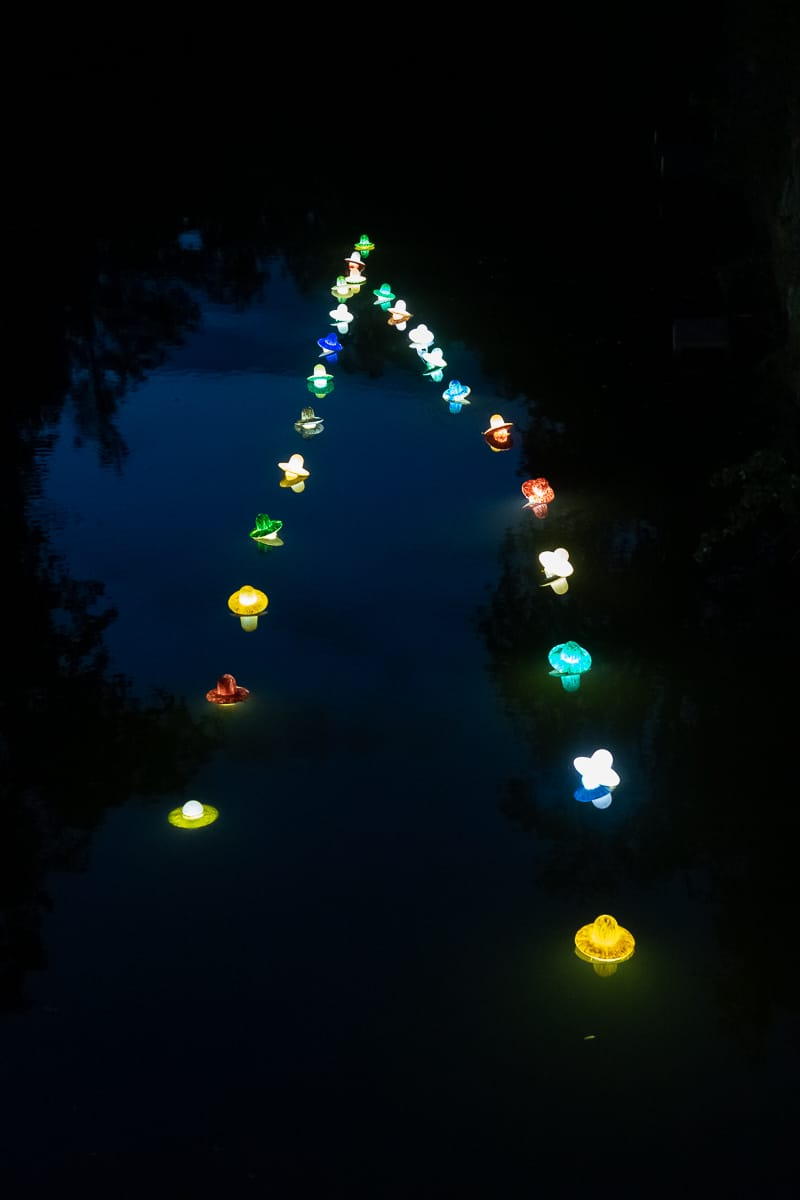 Lichtparcours 2020: #13 stranded drifter (drifter lane)
