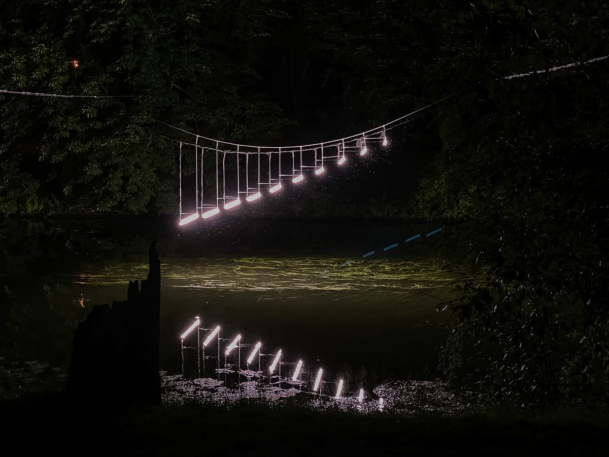 Lichtparcours 2020: #12 Light Steps